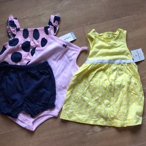 2 new Carter's summer outfits for girls